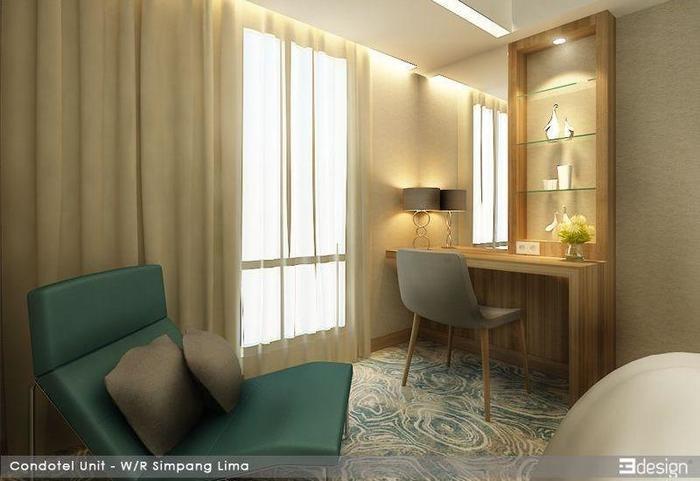 Louis Kienne Hotel Simpang Lima - Kamar tamu
