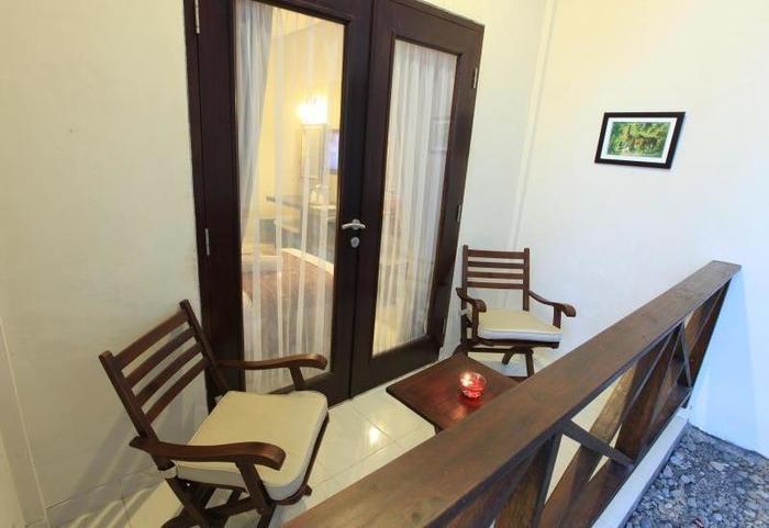 Samawa Transit Hotel Sumbawa - balkon