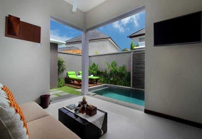 Maharaja Villas Bali - Living Room