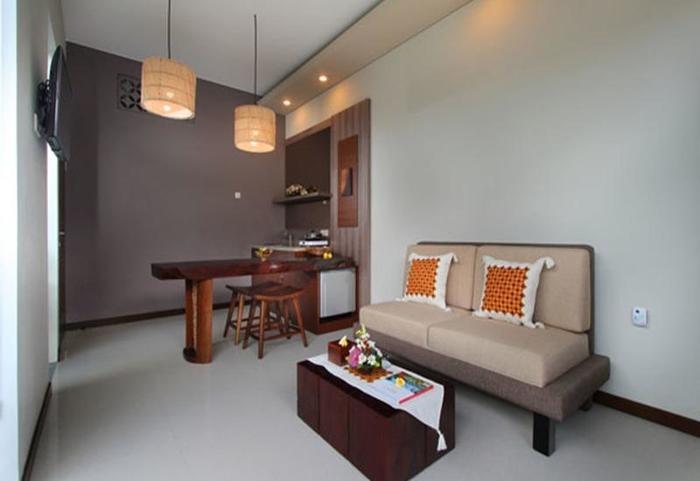 Maharaja Villas Bali - Living Room