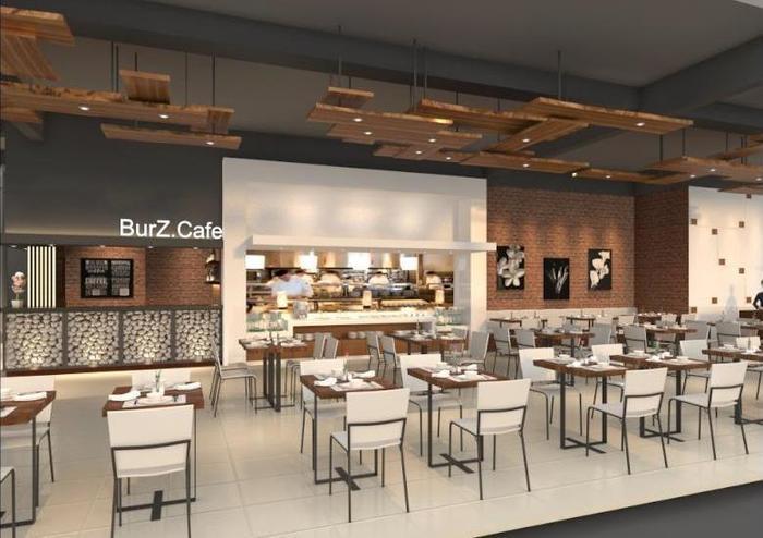 Burza Hotel Lubuk Linggau Lubuklinggau - Ruang makan