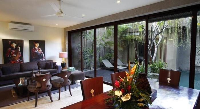 Kanishka Villas Bali - Ruang tamu