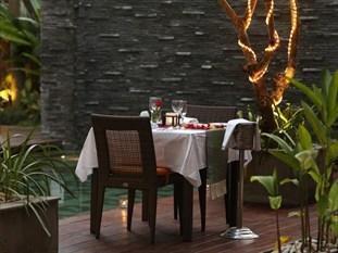 Sense Hotel Seminyak - Dinner by Pool