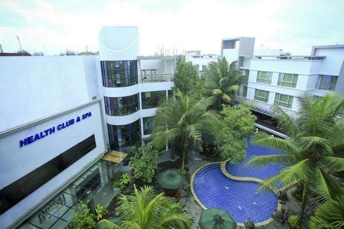 Hotel Blue Sky Balikpapan - Kolam Renang