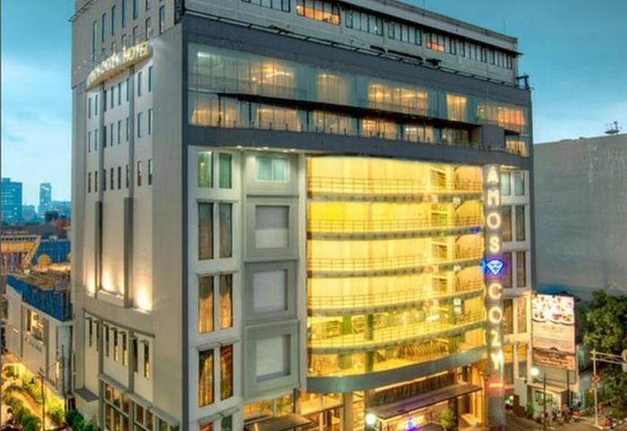 Amos Cozy Hotel Melawai - Hotel Building