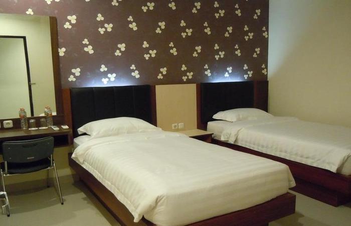 Grand Pacifik Hotel Makassar - Kamar tidur
