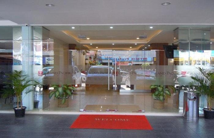 Grand Pacifik Hotel Makassar - pemandangan