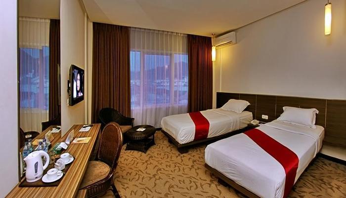 Hotel Pangeran City Padang - Kamar Deluxe