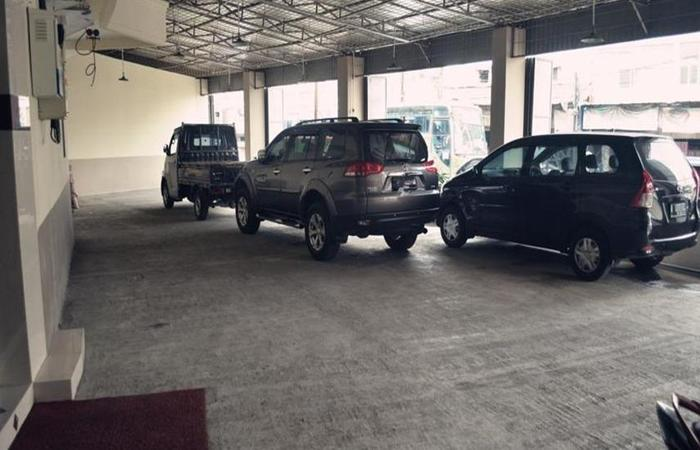 Hotel Mustika Tanah Abang Jakarta - Parkir