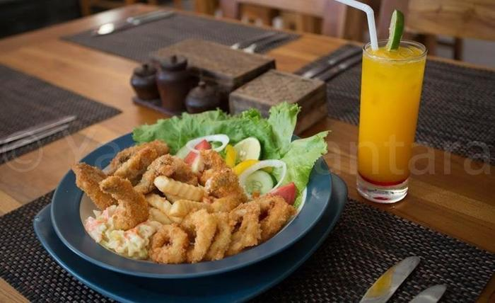 Linda Beach Resort Bali - Makanan dan minuman