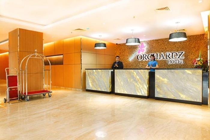 Orchardz Hotel Bandara Tangerang - Lobby