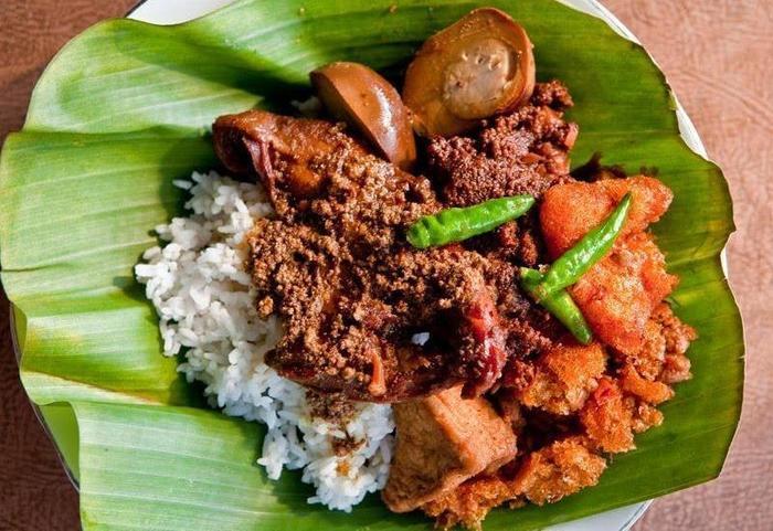 Rumah Kayu Manis Tebet Jakarta - Menu