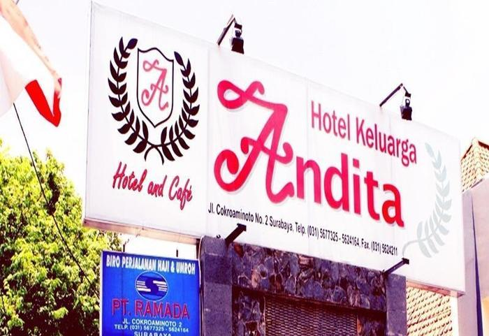 Andita Syariah Hotel  Surabaya - Eksterior