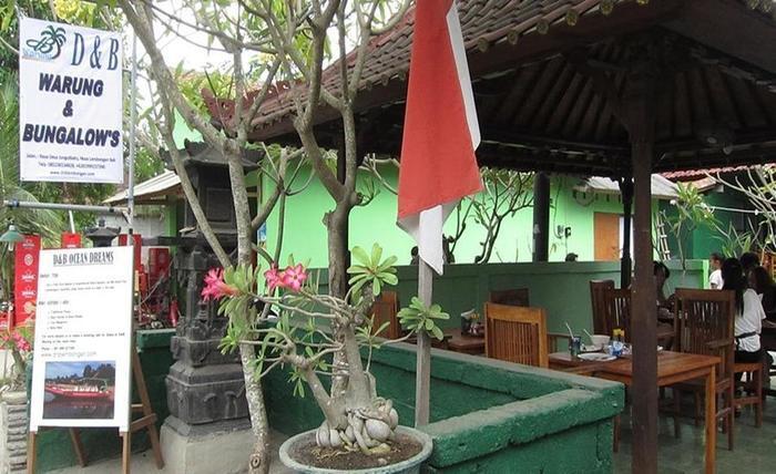 D and B Bungalows Bali - Restoran
