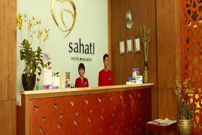 Sahati Hotel Jakarta - Resepsionis