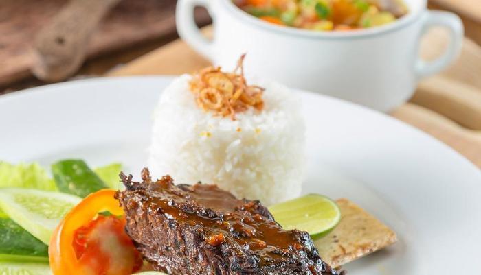 Sahati Hotel Jakarta - konro bakar sahati