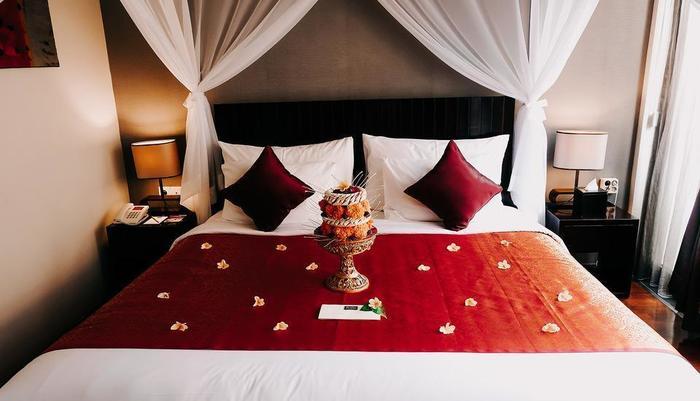 18 Suite Villa Loft Bali - Kingsize Bedroom