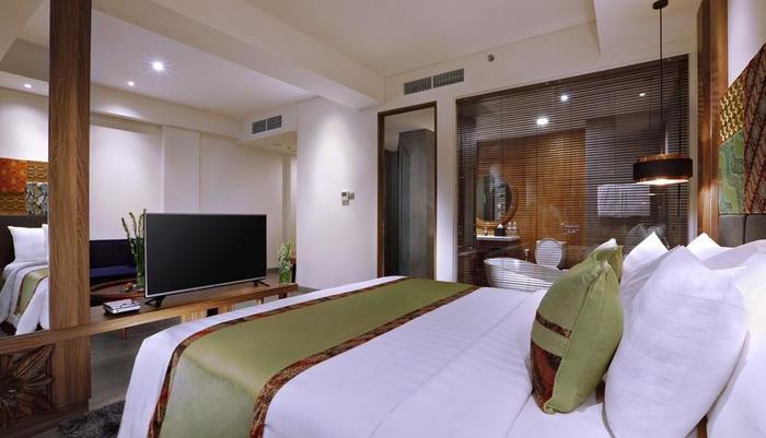 Vasanti Kuta Hotel Bali - Junior Suite bedroom