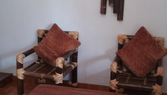Amazon Bungalow & Cottages Pangandaran - Cozy Single Bed room - Living room