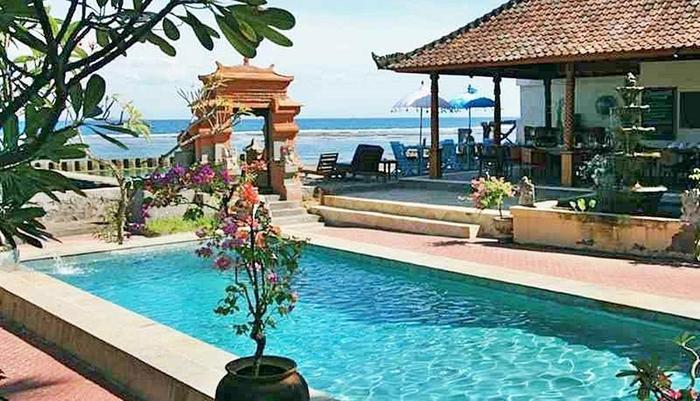 Puri Oka Beach Bungalows Bali - Kolam Renang