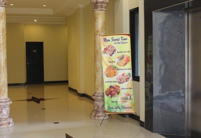 Hotel Sepinggan Balikpapan - lorong