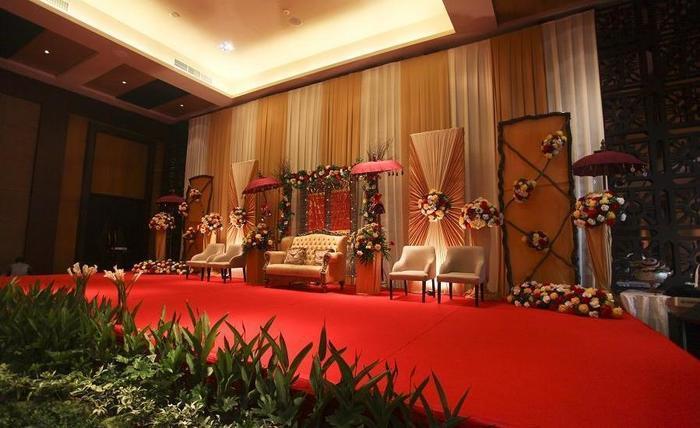 Harrads Hotel Bali - Dekorasi pernikahan