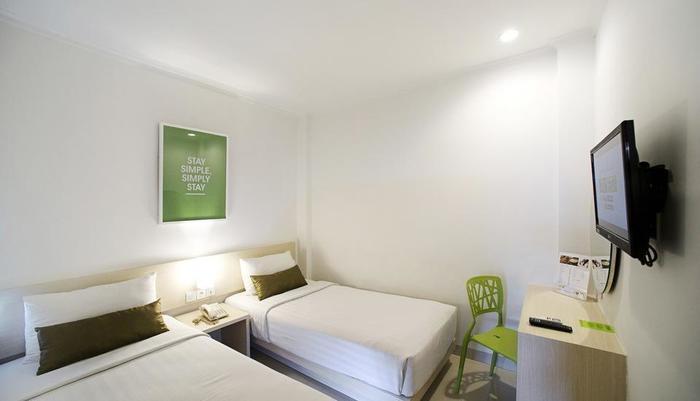 Zuri Express Hotel Pekanbaru - Kamar Standar 2 tempat tidur