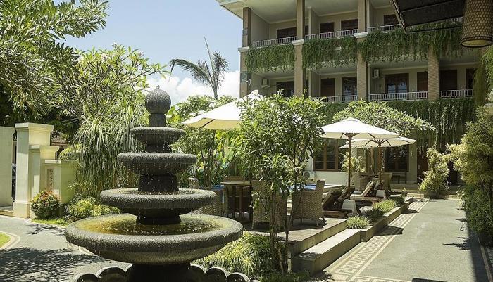 Pondok Anyar Inn Bali - luar bangunan