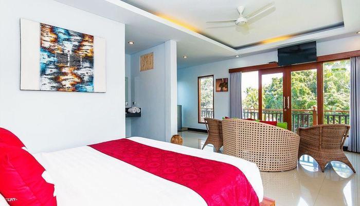ZEN Premium Ubud Hanoman II Bali - Tempat Tidur Double