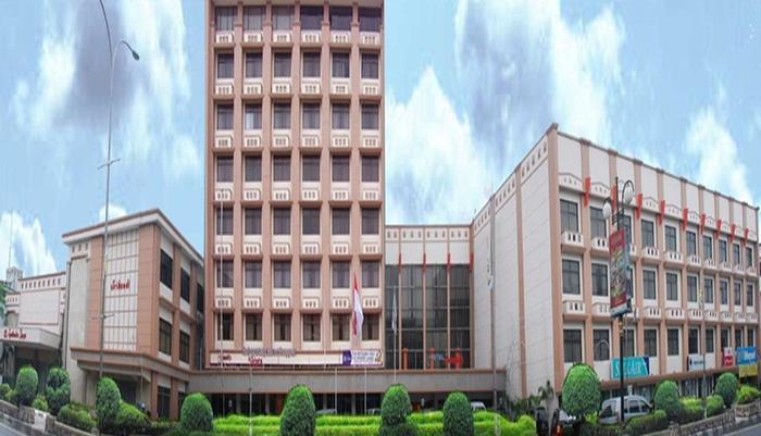 Hotel Sandjaja Palembang - Tampilan Luar Hotel