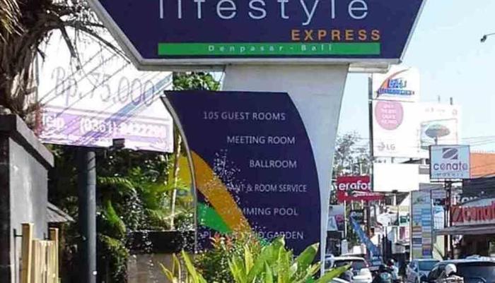 Merak Lifestyle Hotel Denpasar - Pemandangan