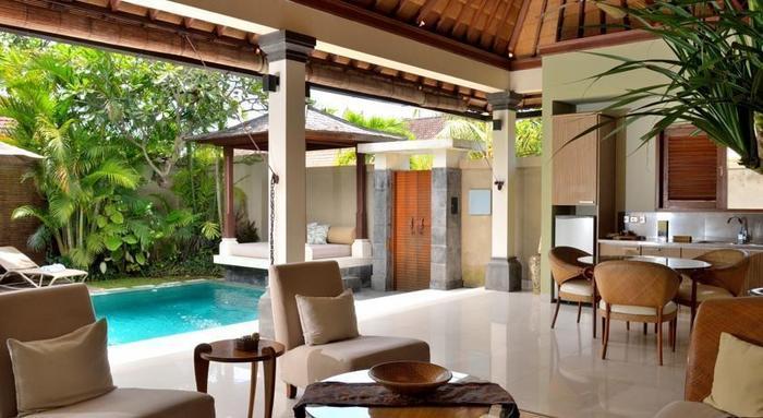 DISINI Luxury Spa Villa Bali - Ruang tamu