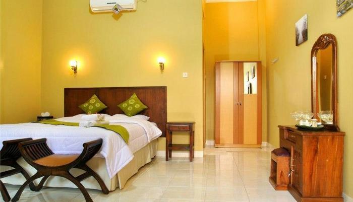 nDalem Bantul Resort Yogyakarta - Kamar Tidur