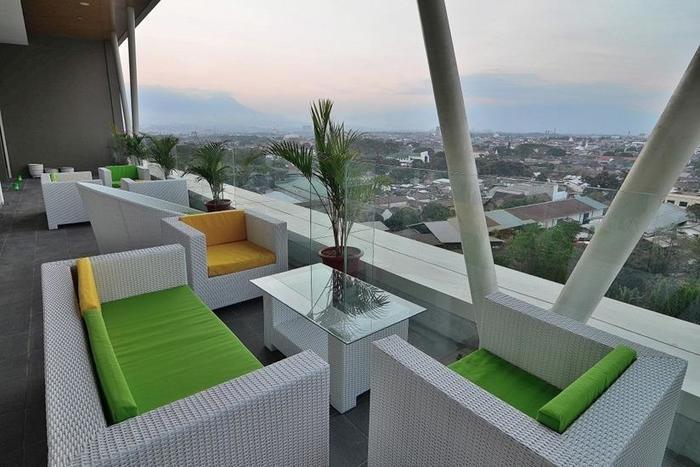 The Balava Hotel Malang - Balkon