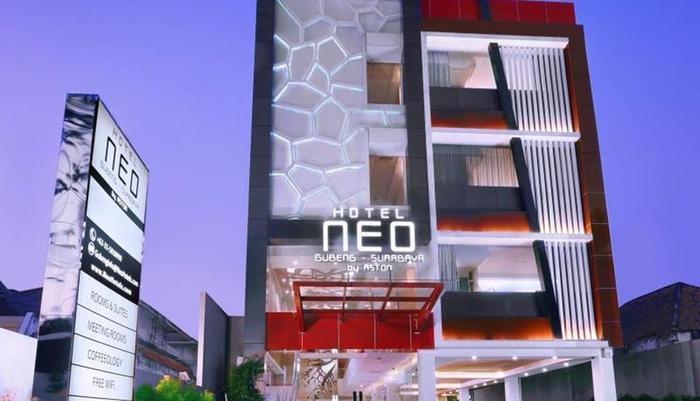 Hotel Neo Gubeng Surabaya - Tampilan Luar Hotel