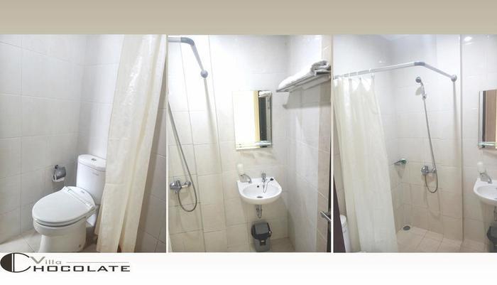 Villa Chocolate Bandung - kamar mandi