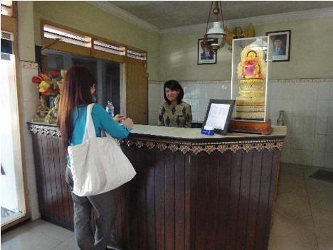 Hotel Megawati Malang - Receptionist