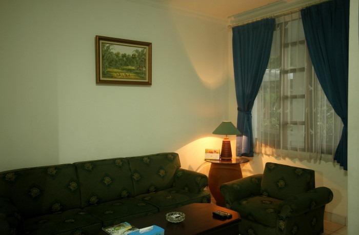 Cilegon City Hotel Cilegon - Living room
