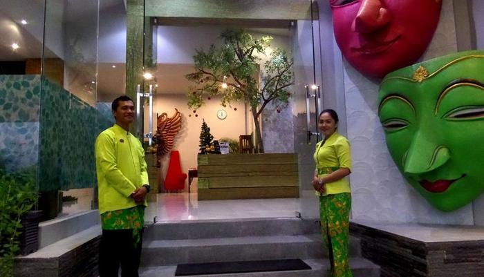 Bukit Daun Hotel and Resort Kediri - masuk
