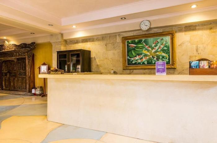 Tinggal Nathan Hotel Bali - Lobi Penerima Tamu