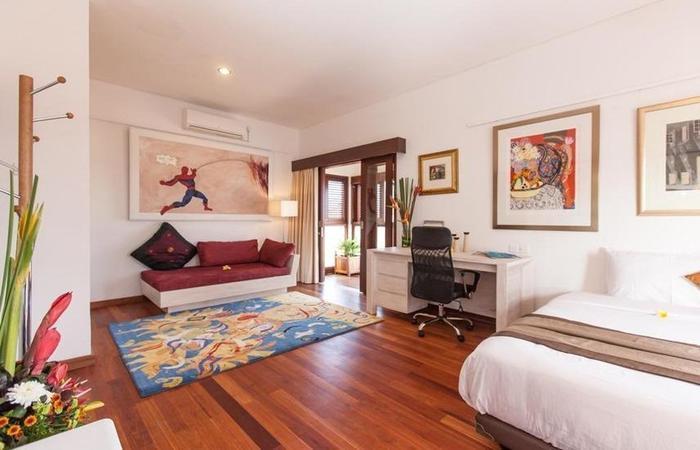 Club 9 Residence Nagisa Bali - Kamar tidur