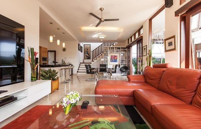 Club 9 Residence Nagisa Bali - Ruang tamu