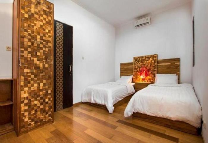 Puri Minggiran Hotel Bali - Kamar tamu