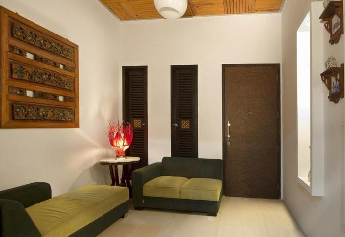 Puri Minggiran Hotel Bali - Ruang tamu