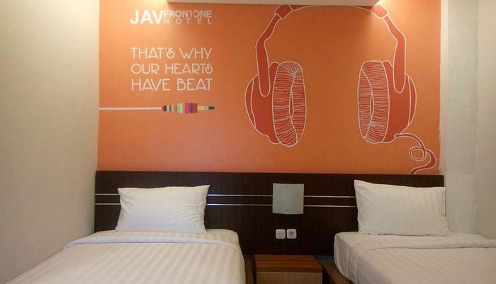 JAV Front One Hotel Lahat Lahat - Deluxe Tempat Tidur Twin
