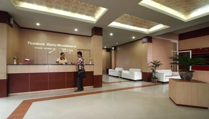 Tembok Batu Residence Yogyakarta - Kantor depan