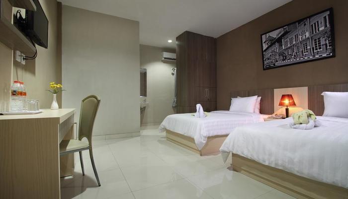 Tembok Batu Residence Yogyakarta - Kamar Deluxe Twin