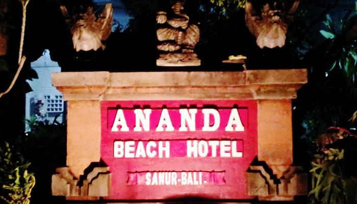 Ananda Beach Hotel Bali - Tampilan Luar