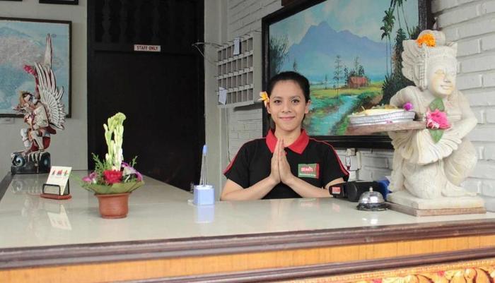 Ananda Beach Hotel Bali - Resepsionis