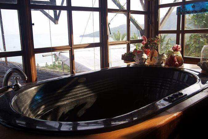 Karang Aji Beach Villa Sukabumi - Kamar mandi
